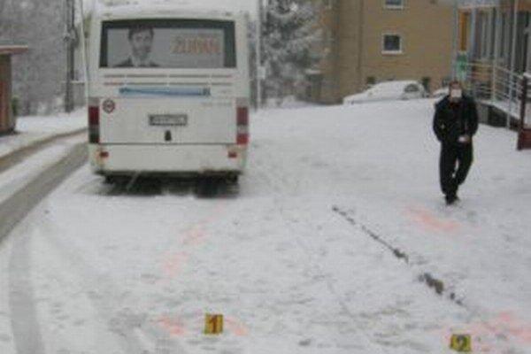 Nehoda v Sihelnom.