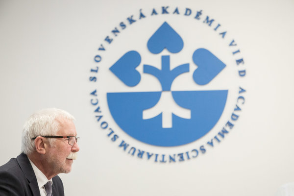 Predseda SAV Pavol Šajgalík.