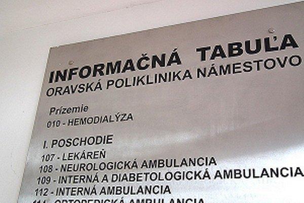 Prevádzkovateľ chce dialýzu presťahovať z Námestova do Trstenej.