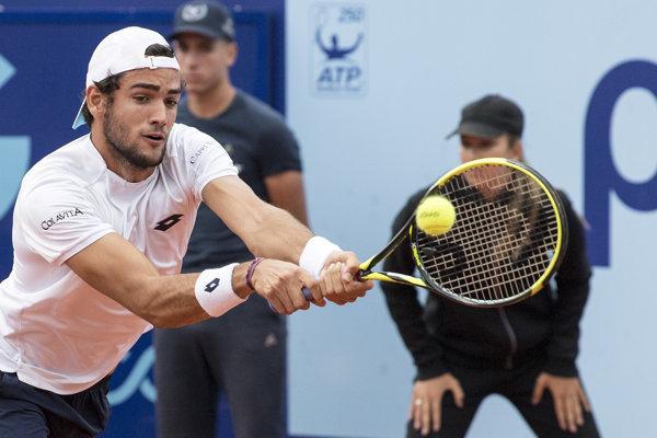 Taliansky tenista Matteo Berrettini.