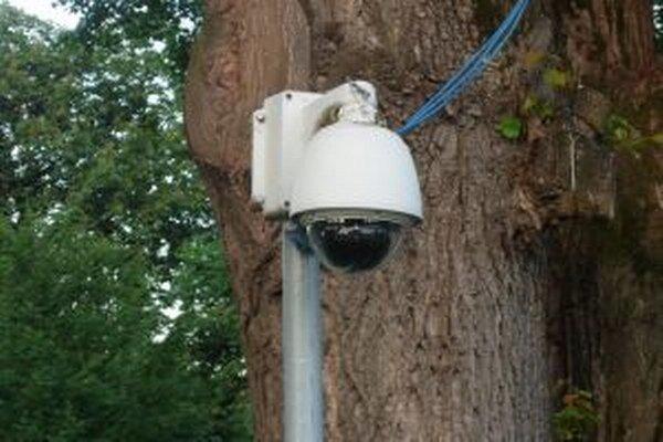Chlebnice sa stanú ďalšou dedinou, kde budú na poriadok dohliadať kamery.