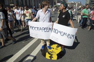 Protestov sa zúčastnili tisíce ľudí.