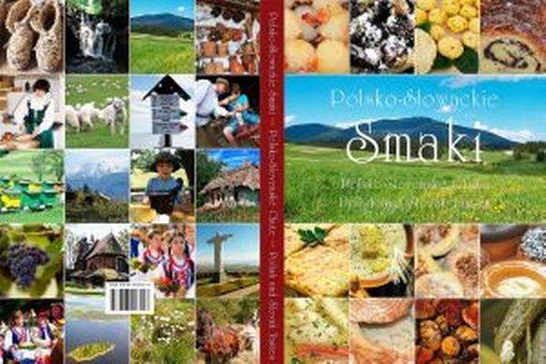 Obálka kuchárky - spoločné dielo troch regionálnych združení.
