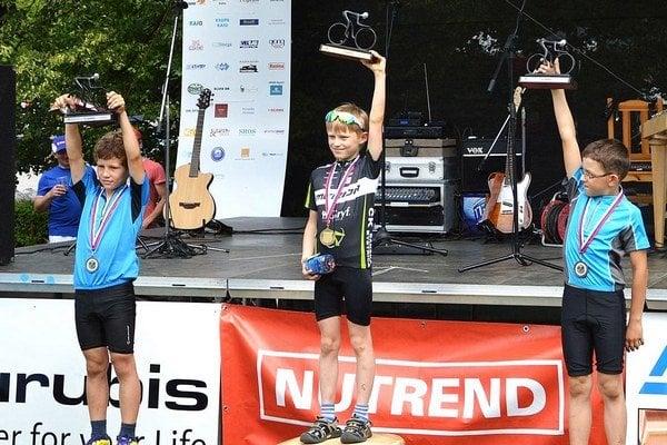 Okrem pretekov pre dospelých sa konala aj Detská tour Petra Sagana.