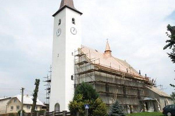 Kostol by mal byť hotový do jesene.
