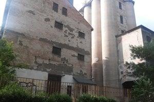 Dnešná podoba Ludwigovho mlyna. Elektrina sa tu použila na svietenie namiesto svietiplynu po prvýkrát v Bratislave.