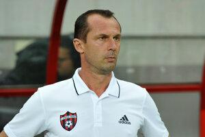 Tréner Trnavy Radoslav Látal.