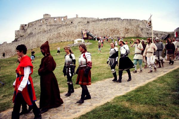 Rytieri a bojovníci na Spišskom hrade