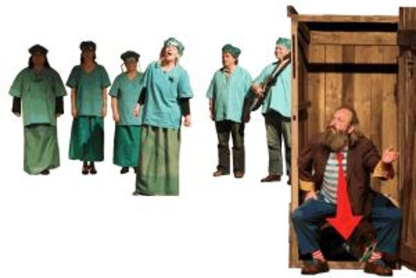 Femina pôsobí na divadelnej scéne už tri desaťročia.
