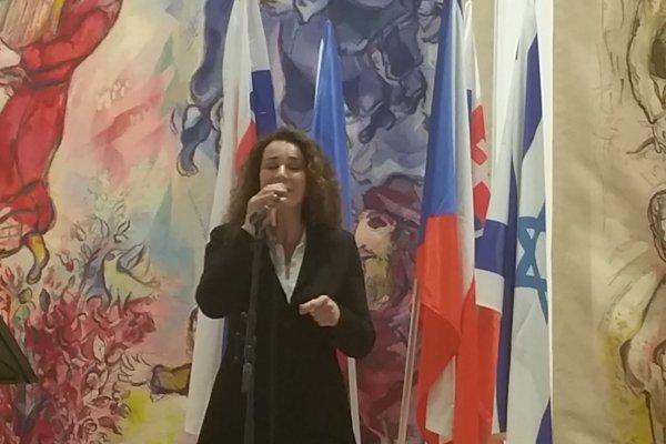 Vystúpenie v Knessete označuje  za silný zážitok.