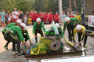 Útok hasičov Oravskej Poruby.