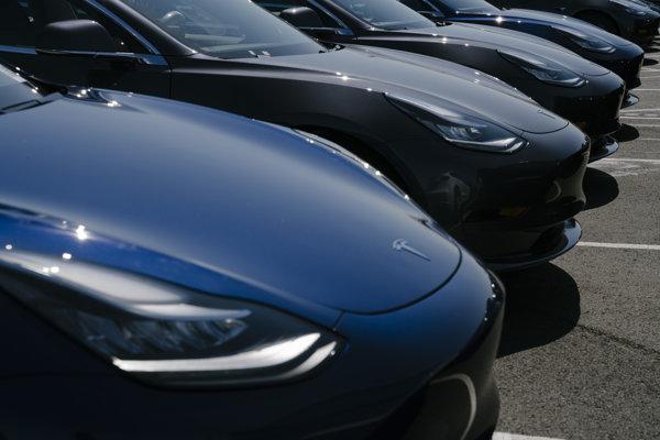 Foto ilustračné - Tesla Model 3.