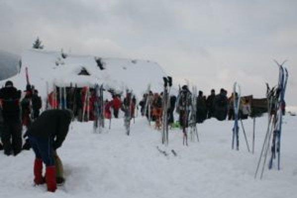 Počet účastníkov bežkárskych prechodov závisí od počasia.
