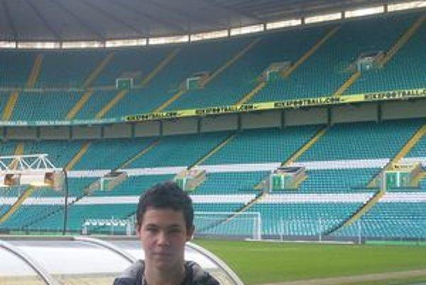 Škótsky Celtic Park je výzvouTomáš Trabalík na štadióne Celticu. Má predpoklady, aby na ňom v budúcnosti hrával.