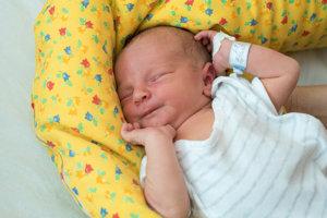 Branko Ando (3690g, 51cm) sa narodil 29.júla Natálii a Michalovi zo Starej Turej.