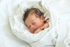 Emka Huláková (3360g, 50cm) sa narodila 30.júla Jane a Petrovi z Bánoviec n/Bebravou.