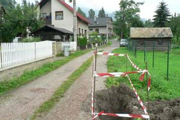 Na tejto ulici archeológovia našli pozostatky pravekého osídlenia.