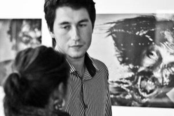 Prvá z výstav. Svoje fotografie predstavil Dolnokubínčan Peter Gáll.