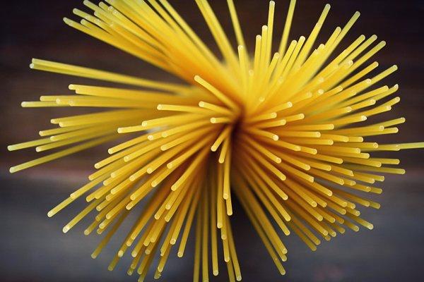 Špagety.