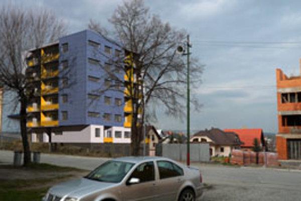 Návrh polyfunkčného domu.