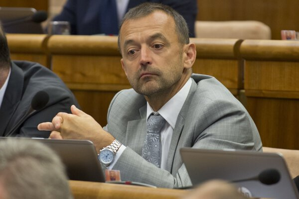 Poslanec Miroslav Ivan (SaS).