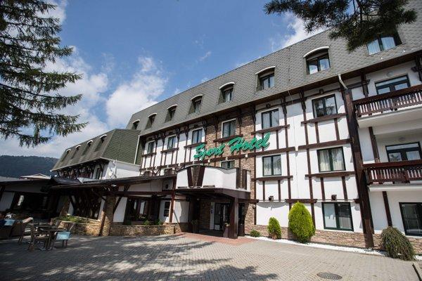 Hotel Šport v Donovaloch.
