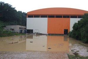 Zimný štadión, august 2010.