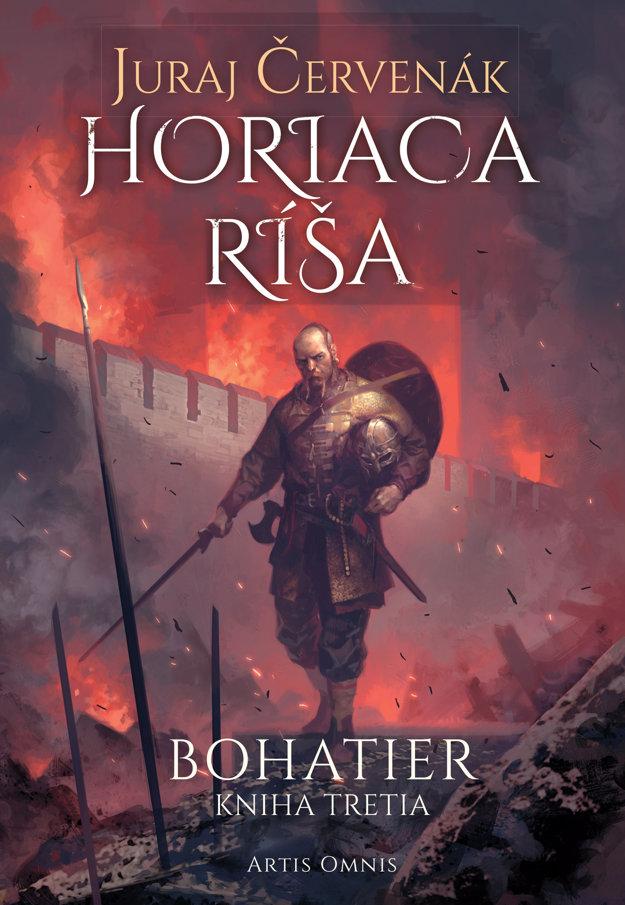publikácia Horiaca ríša (Juraj Červenák)