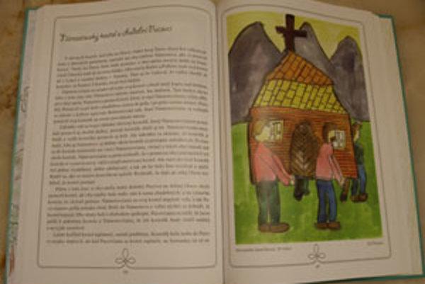 Povesti pomáhali autorke zbierať deti a deti Povesti spod Babej hory aj ilustrovali.