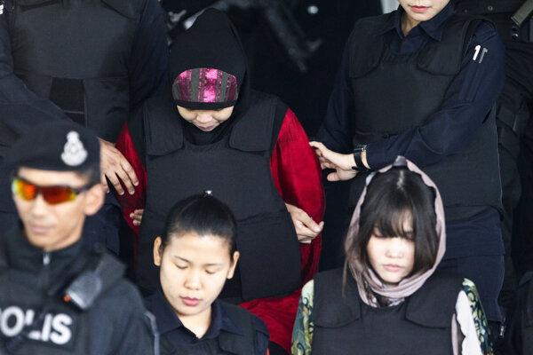 Proces so ženami obžalovanými z vraždy Kim Čong-nama bude pokračovať