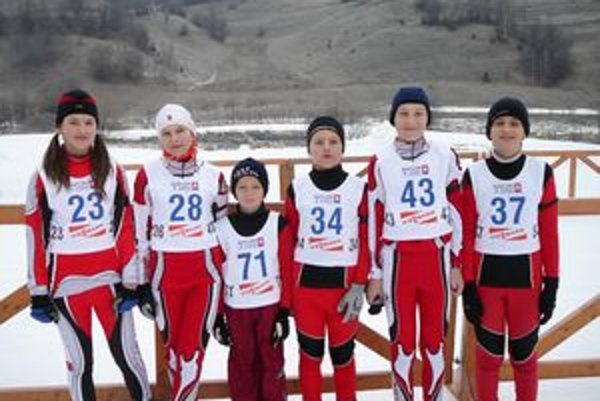 Dolnokubínski biatlonisti zaujali výkonom Patrika Šocha.