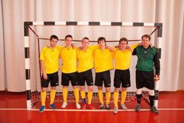 Víťazi halovej futbalovej ligy v Rabči - PS Parket.
