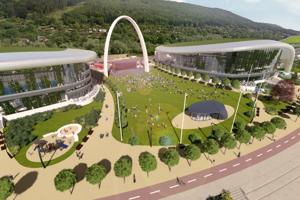 Jeden z víťazných projektov Areálu športu Dubeň zrejme zostane v zásuvke.