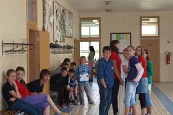 Moja trieda, moja chodba - platí v zákamenskej základnej škole.