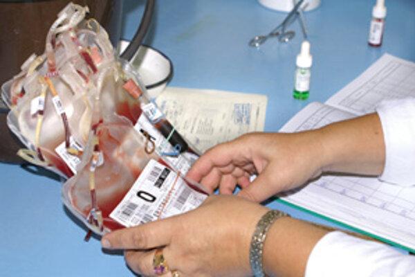 Vzorky krvi.
