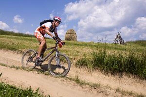 Cyklistom sa naskytol aj takýto obrázok oravskej prírody.