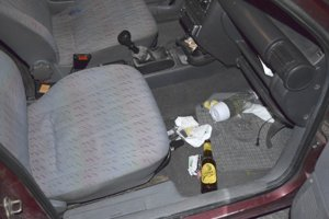 Za volant si sadlo pri kontrole počas 33. týždňa až 30 vodičov pod vplyvom alkoholu.