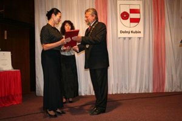 Osobnosťou mesta za rok 2008 sa stala Marta Nováková za svoju obetavú prácu v sociálnej oblasti.