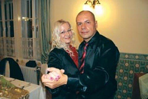Vladimír Železník so svojou manželkou Ivanou.
