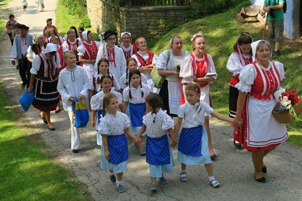 V kultúrnom programe sa predstavili aj deti.