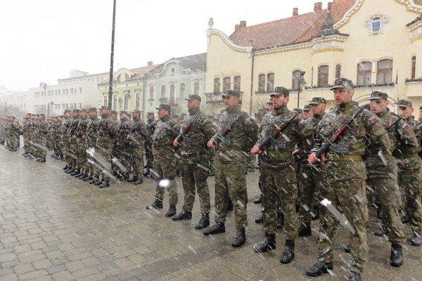 Oslavy oslobodenia mesta začali v Topoľčanoch na námestí.
