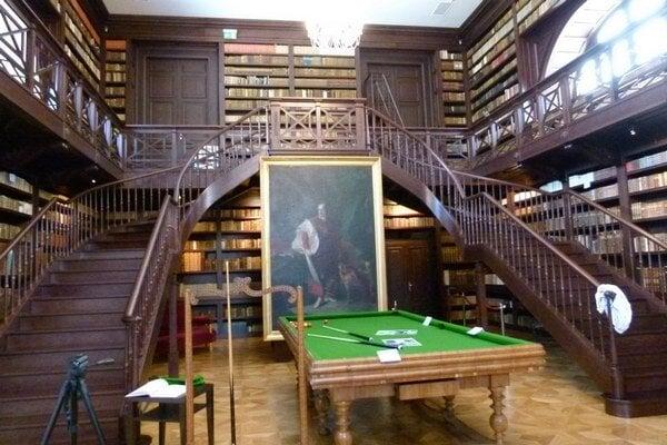 Apponyiovská knižnica.
