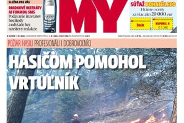 Nové číslo MY Noviny stredného Považia (OBZOR) nájdete v stánkoch i obchodoch.