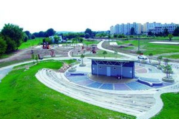 Park bude dokončený koncom roka.