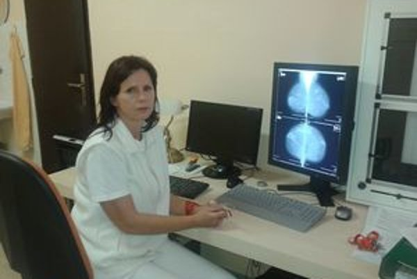 Digitálny mamograf odhalí aj počiatočné štádia choroby.