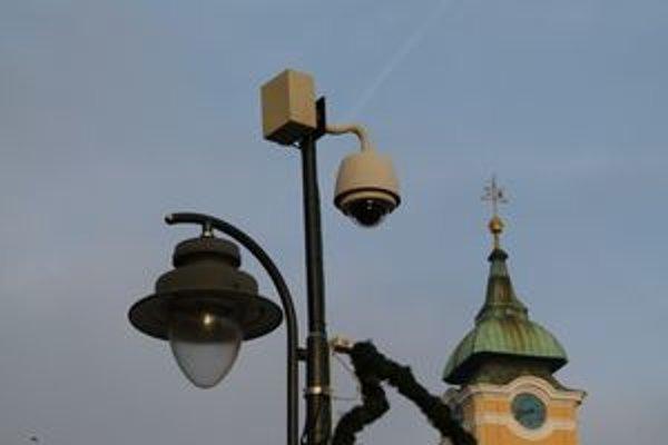 Kamery pribudnú v nebezpečnejších častiach mesta.