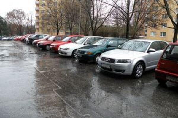 Vodiči často porušovali v centre dopravné predpisy.