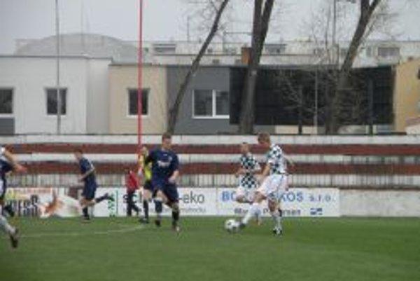 Topoľčany prehrali vonku 0:1.