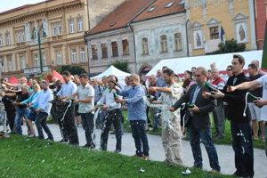 Pešia zóna v Prešove bude od štvrtka do soboty (vždy od 10.30) patriť Festivalu dobrej chuti. Momentka z predošlých ročníkov.