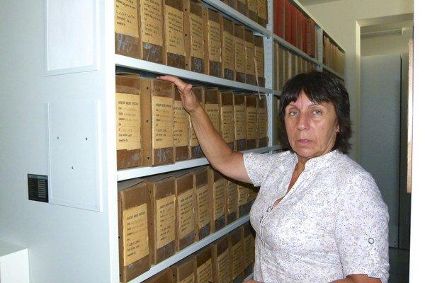 V topoľčianskom archíve.